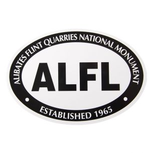 Alibates Flint Quarries National Monument Sticker - Euro Oval