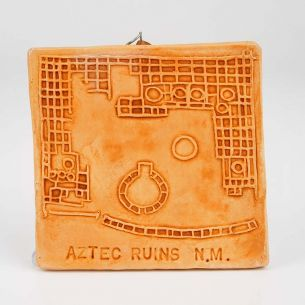 Aztec Ruins National Monument Clay Ornament