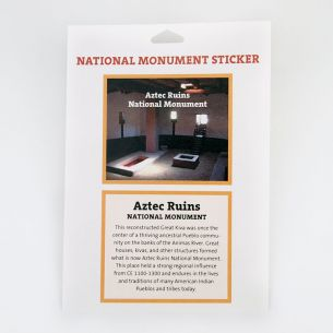 Aztec Ruins National Monument Park Sticker