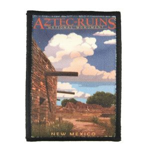 Aztec Ruins National Monument Patch - Illustration