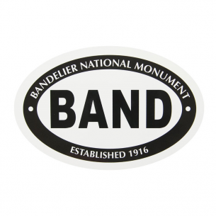 Bandelier National Monument Sticker - Euro Oval