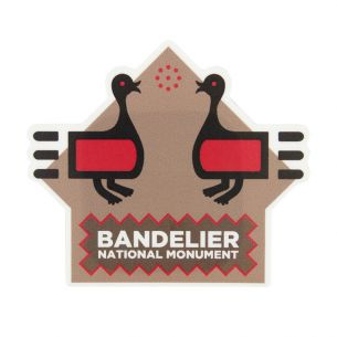 Bandelier National Monument Sticker - Talking Turkeys