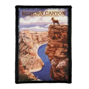 Bighorn Canyon National Rec. Area Patch - Illustration