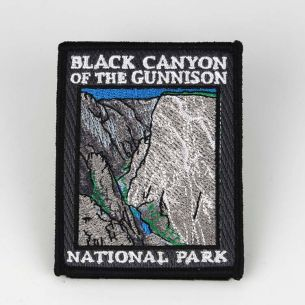 Black Canyon of the Gunnison National Park Patch - Painted Wall