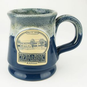 Brown v. Board of Education National Hist. Site Footed Mug