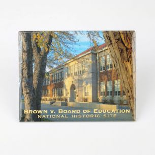 Brown v. Board of Education National Hist. Site Magnet - Facade