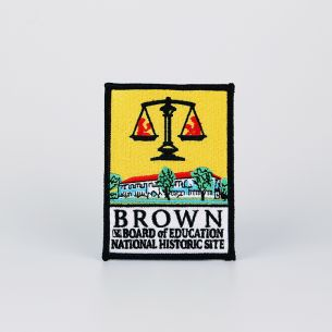 Brown v. Board of Education National Hist. Site Patch - Logo