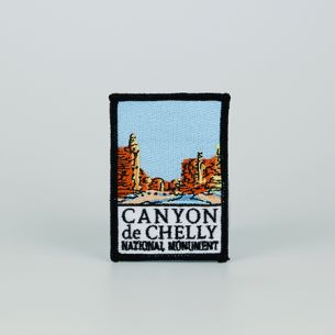 Canyon de Chelly National Monument Patch - Logo