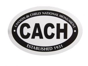 Canyon de Chelly National Monument Sticker - Mini Oval