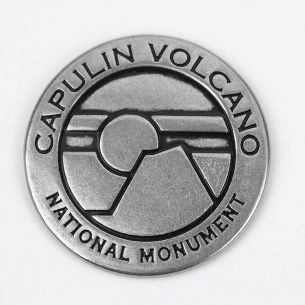 Capulin Volcano National Monument Collectible Token- Sunset