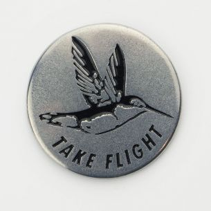 Capulin Volcano National Monument Collectible Token- Take Flight