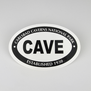 Carlsbad Caverns National Park Sticker - Euro Oval