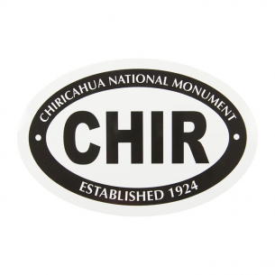 Chiricahua National Monument Sticker - Euro Oval