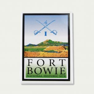 Fort Bowie National Hist. Site Magnet - Logo