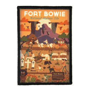 Fort Bowie National Hist. Site Patch - Geometric
