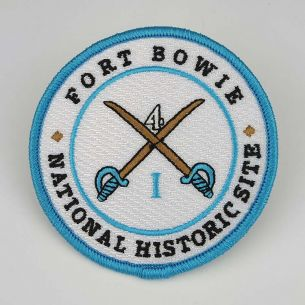 Fort Bowie National Hist. Site Patch - Round Logo