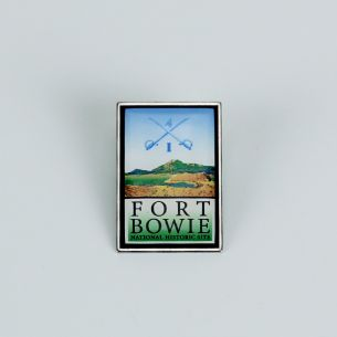 Fort Bowie National Hist. Site Pin - Logo
