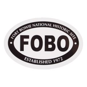 Fort Bowie National Hist. Site Sticker - Euro Oval