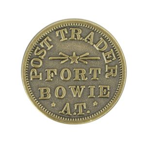 Fort Bowie National Hist. Site Trader Coin