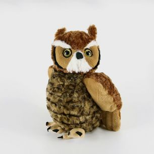 Great Horned Owl Plush Toy