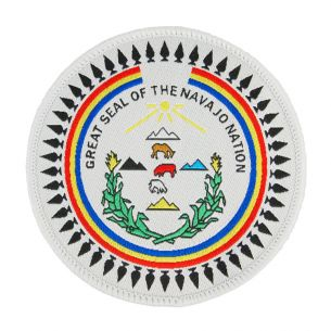 Great Seal of the Navajo Nation Patch