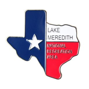 Lake Meredith National Rec. Area Pin - Texas