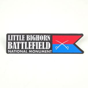 Little Bighorn Battlefield Sticker - Custer's Guidon