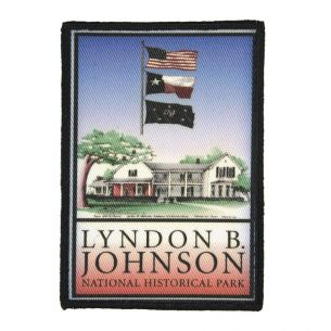 Lyndon B. Johnson National Hist. Park Patch - Flag Logo