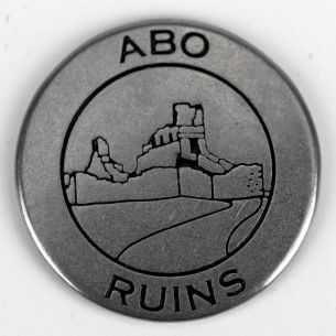 Salinas Pueblo Missions National Monument Collectible Token- Abo