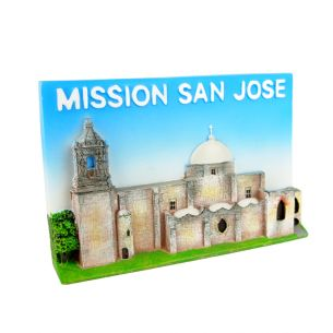 San Antonio Missions National Hist. Park Resin Magnet