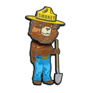 Smokey Bear Bobble Head Pin