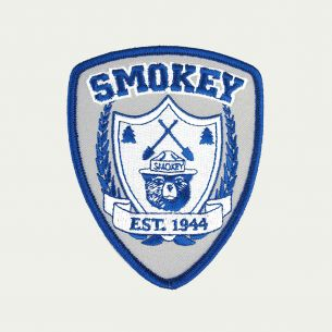 Smokey Bear Patch - Crest