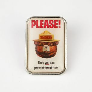 Smokey Bear Pin - Classic