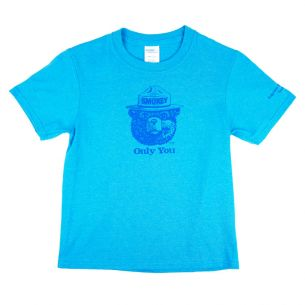 Smokey Bear Portait Kid's T-Shirt