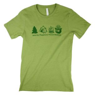 Smokey Bear Symbols T-Shirt