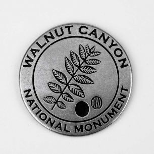 Walnut Canyon National Monument Collectible Token