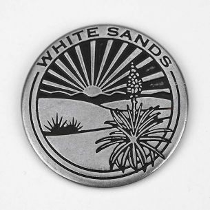White Sands National Monument Collectible Token